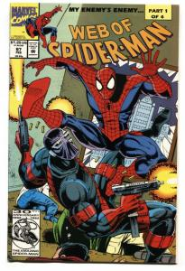 Web Of Spider-Man #97 comic book Marvel 1st Dr Kevin Trench / Night Watch