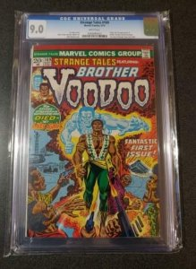 Strange Tales #169 - CGC 9.0 - 1st Brother Voodoo