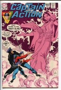 CAPTAIN ACTION #4 1968-DC COMICS-GIL KANE-vf/nm