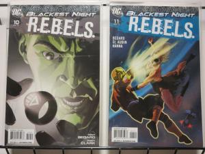 REBELS (2009) 10-11  BLACKEST NIGHT tie-in story arc!