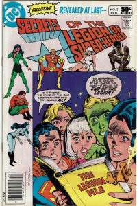 Secrets Of The Legion Of Super-Heroes #2 Newsstand VF