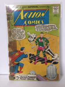 Action Comics 278 1.8 Gd- Good- Cover Detached DC Comics SA