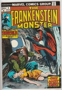 Frankenstein, the Monster of #9 (Mar-74) VF+ High-Grade Frankenstein