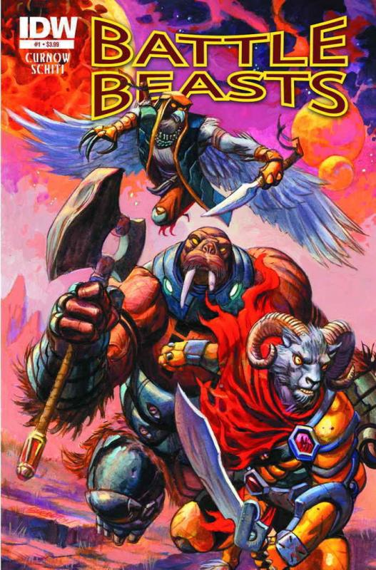 Battle Beasts (2nd Series) #1 VF/NM; IDW | save on shipping - details inside