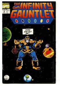 INFINITY GAUNTLET #4 1991 MARVEL MCU THANOS
