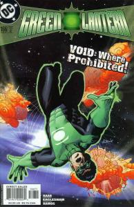 Green Lantern (3rd Series) #166 VF/NM; DC   save on shipping - details inside