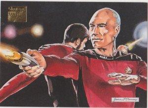 1993 Skybox Star Trek Master Series #83 Target Practice