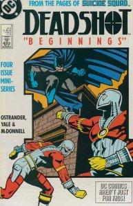 Deadshot #1 FN; DC | save on shipping - details inside