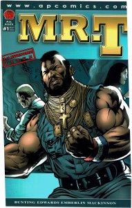 Mr. T #1  AP Comics  NM+