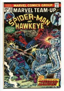 Marvel Team-Up #22 1974-SPIDER-MAN / HAWKEYE VF