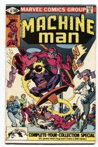 Machine Man #19  first Jack O' Lantern-hobgoblin 1979 COMIC BOOK
