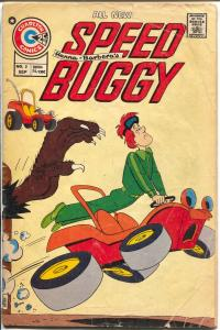 Speed Buggy #2 1975-Charlton-Hanna-Barbera cartoon comic book-G