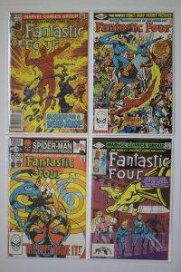 Fantastic Four 233 236 237 241 Lot of 4 Comic Books Bronze Age Marvel Comics