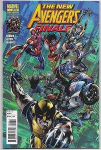 New Avengers Finale (2010) #1 VF Bendis/Hitch/Immonen, Luke Cage, Wolverine