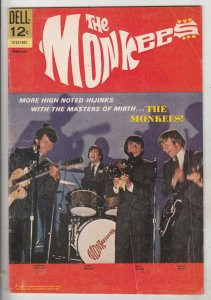 Monkees, The #9 (Feb-68) FN/VF+ High-Grade The Monkees (Peter Tork, David Jon...