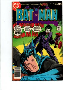 Batman #294 newsstand - Joker cover- 1977 - Fine/Very Fine
