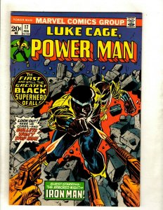 Luke Cage Hero For Hire # 17 VF Marvel Comic Book Netflix Defenders RS1