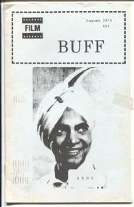 Film Buff  8/1974-Sabu-Laurel & Hardy-historic film info-VG