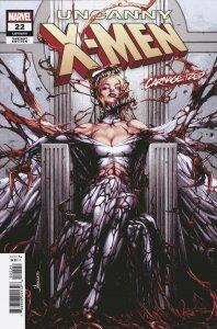 Uncanny X-Men #22 Anacleto Carnage-Ized Variant (Marvel, 2019) NM