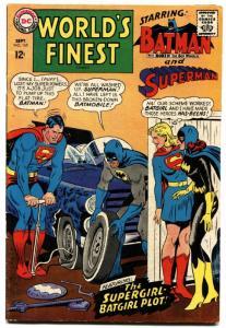 WORLD'S FINEST #169-BATGIRL--SUPERGIRL--SUPERMAN--BATMAN vg