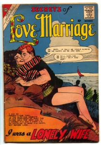Secrets of Love And Marriage #27 1960- I Was a Lonely Wife VG/F