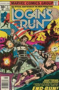 Logan's Run (Marvel) #5 FN; Marvel | save on shipping - details inside