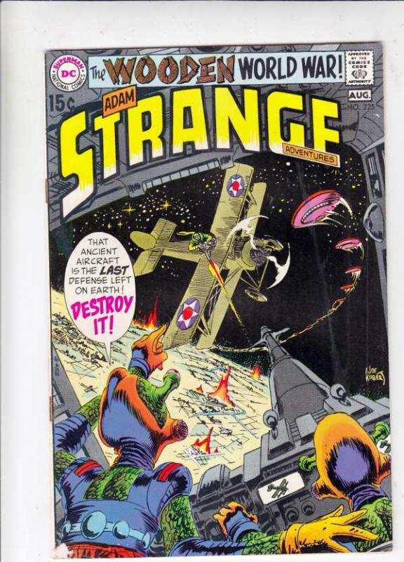 Strange Adventures #225 (Aug-70) FN/VF Mid-High-Grade Adam Strange, Alana