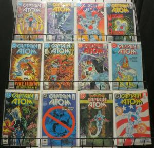 CAPTAIN ATOM (1987) 1-57 ANN 1,2  Death 1st app 42-43