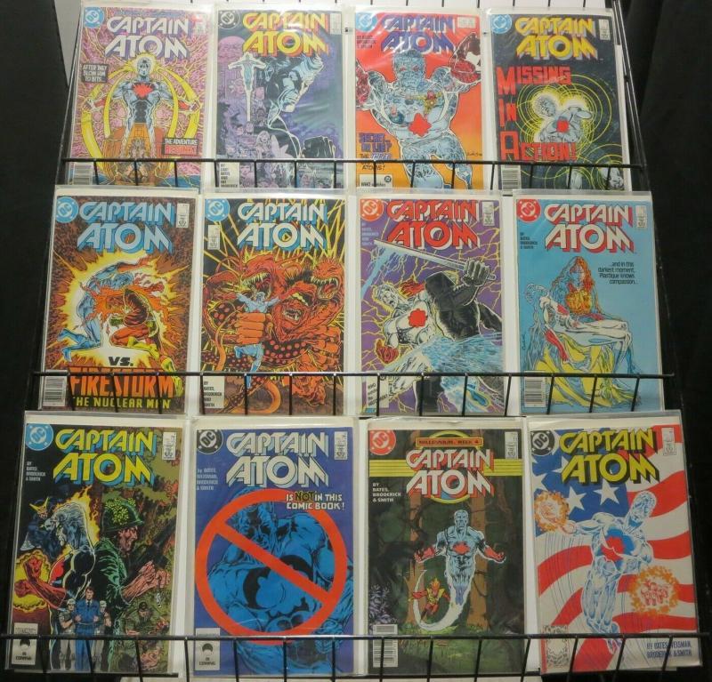 CAPTAIN ATOM (1987) 1-57 ANN 1,2  Revival !