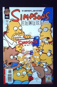 Simpsons Comics #85 (2003)
