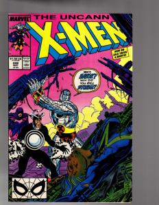 X MEN 248   FINE Sept. 1989  subscription crease