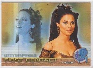 2002 Star Trek Enterprise First Contact #F7 Risan