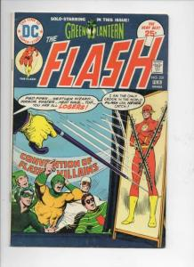 FLASH #231, FN, Green Lantern, Villain Convention, 1975, more in store, DC