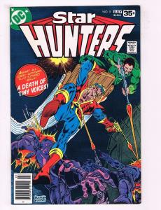 Lot Of 3 Star Hunters DC Comic Books Bronze Age # 5 6 7 Buckler & Layton Art AD9