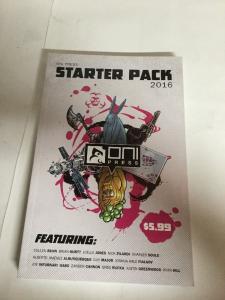 One Press Starter Pack 2016 Tpb Nm Near Mint