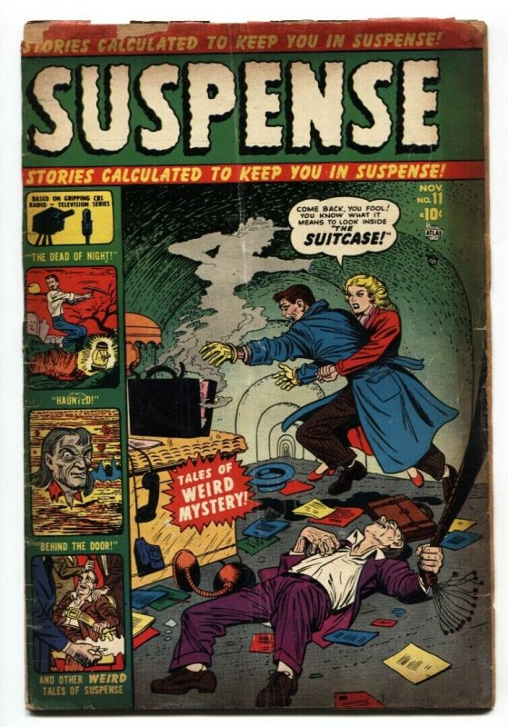 Suspense #11 1951-Atlas-Joe Maneely-Peter Tumlinson-Hank Chapman-G-