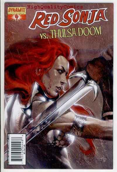 RED SONJA vs THULSA DOOM #4, NM, She-Devil, Sword, Femme, more RS in store
