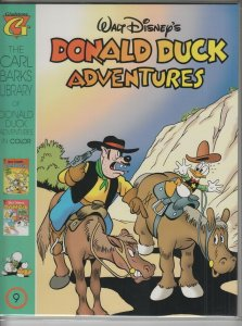 CARL BARKS LIBRARY OF DONALD DUCK ADVENTURES #9 NM- A01295