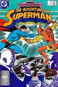 Adventures of Superman (1987 series) #437, NM- (Stock photo)