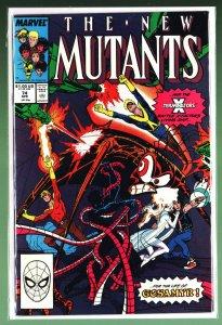 The New Mutants #74 (1989)