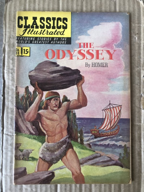 Classics Illustrated #81 (1951)