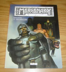 the Mercenary vol. 8 VF/NM giants - v. segrelles - nbm graphic novel 1999