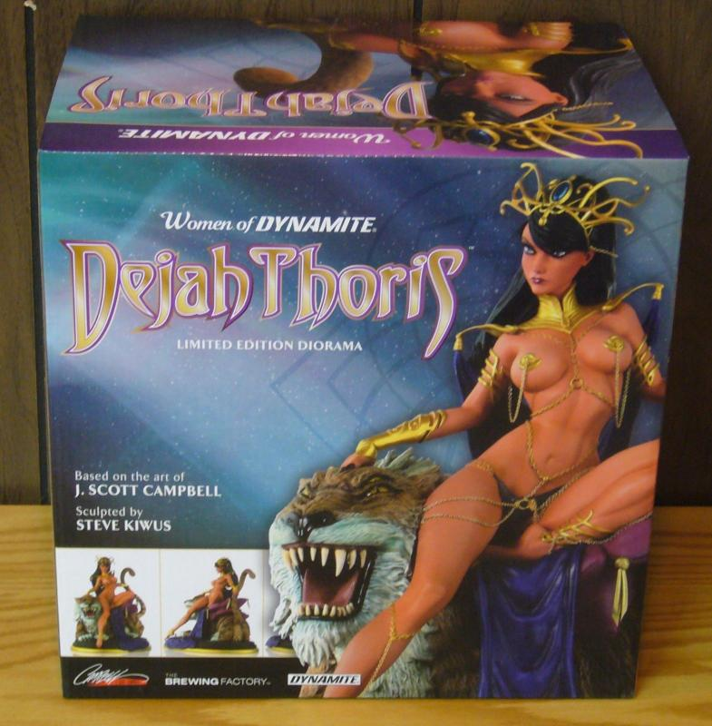 Dejah Thoris Limited Edition Diorama (#41 of 99) Artist Proof j. scott campbell