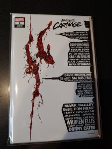 ABSOLUTE CARNAGE #1 SCORPION COMICS VARIANT BY BAGLEY