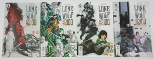 Lone Wolf 2100: Chase the Setting Sun #1-4 VF/NM complete series - dark horse