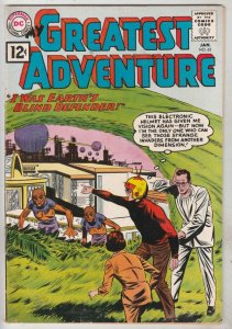My Greatest Adventure #63 (Jan-62) FN/VF+ High-Grade This Electric Helmet Has...