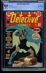 Detective Comics #431 CBCS NM+ 9.6 White Pages