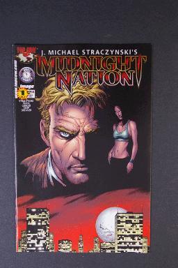 Midnight Nation #1 Oct 2000 1st Printing j. Michael Straczyn