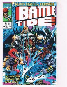 Battletide (1992 1st Series) #4Marvel UK Comic Book Killpower Death HH4 AD38