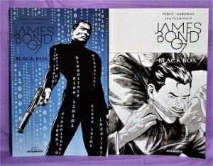 Benjamin Percy JAMES BOND 007 Black Box #5 Varaint Covers x 2 (Dynamite, 2017)!